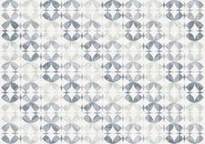 Silveroändligheten cirklar den sömlösa modellen Arkivfoton