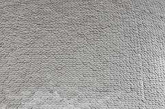 Silverpaljettbakgrund royaltyfri foto
