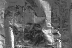 Silverpappersfolie Arkivbild