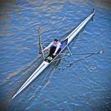 国际耐力赛船会SilverSkiff 免版税库存图片
