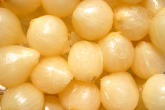 Silverskin pickled onions Royalty Free Stock Image