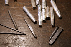 Silversmith Tools Stock Images