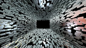 Silverstångtegelstenar gräver att zooma ut och gräver utvidgning royaltyfri illustrationer