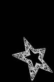 Silverstjärna Royaltyfri Bild
