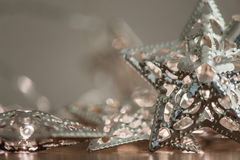 Silverstjärnaljus Fotografering för Bildbyråer