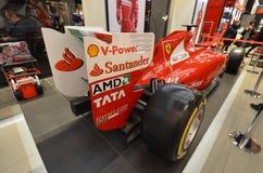 Silverstone strömkrets, bil, bil för formel en, motorfordon, springa för formel Royaltyfria Foton