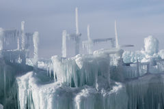 Silverthorne Ice Castles Stock Photo