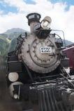 Silverton火车的杜兰戈在Silverton科罗拉多州的一个老银色采矿镇美国 库存图片