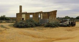 Silverton-австралийское захолустье стоковое фото