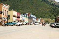 Silverton, Colorado. Main street in Silverton, Colorado Royalty Free Stock Photography