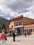 Silverton eine alte silberne Bergbaustadt im Staat Colorado USA Lizenzfreies Stockfoto