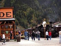Silverton eine alte silberne Bergbaustadt im Staat Colorado USA Lizenzfreie Stockbilder