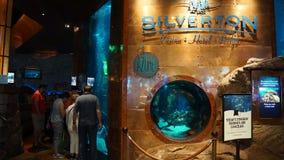 Silverton hotell och kasino i Las Vegas, Nevada Arkivbilder