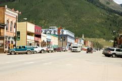 Silverton, Kolorado Lizenzfreie Stockfotografie