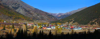 Silverton, le Colorado Image stock