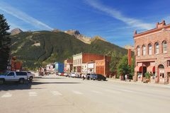 Silverton, le Colorado Photographie stock