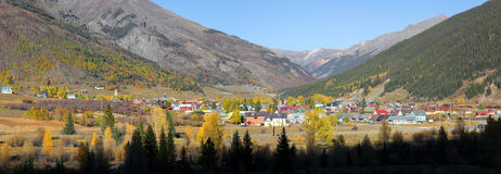 Silverton, le Colorado Photographie stock