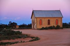 Silverton New South Wales, Australien Royaltyfria Bilder