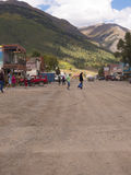Silverton an old Silver Mining town in the State of Colorado USA Stock Photography