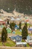 Silverton Panorama, Colorado, USA Royalty Free Stock Image
