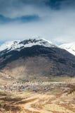 Silverton Panorama, Colorado, USA Royalty Free Stock Photo