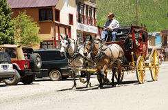 Silverton Stage Coach Stock Photos