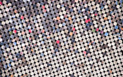 Silvertrombocytmosaik Arkivfoto