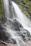 Silvervattenfall Royaltyfri Bild