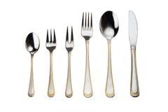 silverware полного комплекта Стоковая Фотография