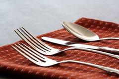 silverware Royaltyfri Bild