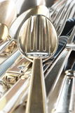 silverware Arkivfoton