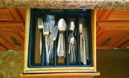 silverware Royaltyfri Fotografi
