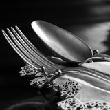 silverware imagem de stock royalty free