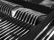 Silverware Boxed 2 Royalty Free Stock Images