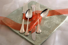Silverware II. Still life with silverware Royalty Free Stock Photography