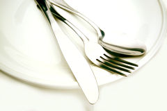 Silverware Stock Images