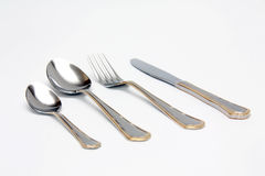 Silverware Set Royalty Free Stock Photography