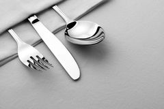 Silverware set Royalty Free Stock Photos