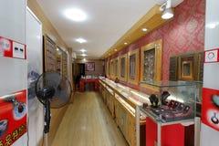 Silverware store, adobe rgb. Silverware store in xiamen city, china Stock Photos