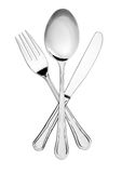 Silverware symbol Royalty Free Stock Image