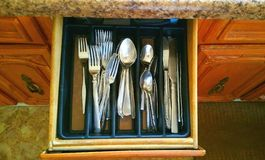 Silverware Royalty Free Stock Photography