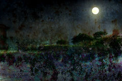 Silvery moon. By the light of the silvery moon royalty free stock photography