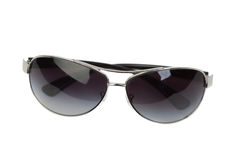 Silvery sunglasses Royalty Free Stock Photography