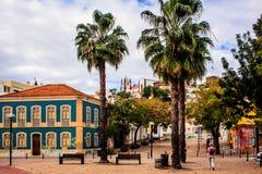 Silves,法鲁,阿尔加威,葡萄牙 图库摄影