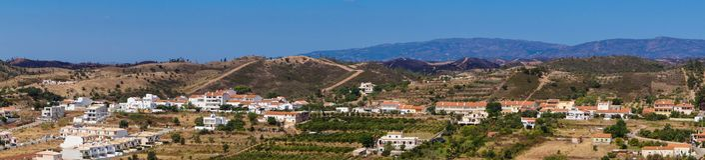 Silves Algarve Portugalia fotografia royalty free