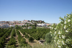 Silves Castle Algarve Portugal Royalty Free Stock Image