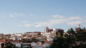 Silves Castle in the Algarve region of Portugal Stock Photography