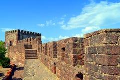Silves castle walls  in the Algarve Stock Photo