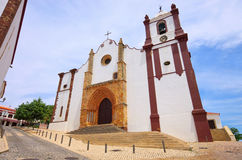 Silves cathedral Stock Photo