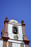 Silves Cathedral bell tower in the Algarve Stock Photo